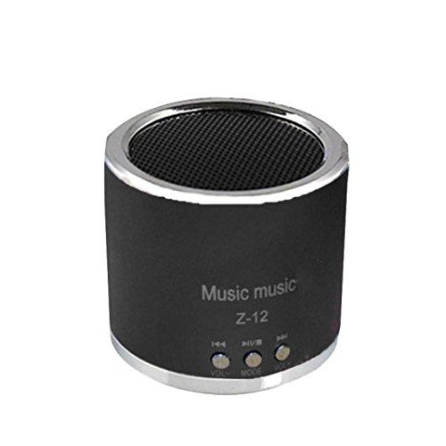 Aribelly Wireless Speaker Portable Mini FM Radio USB Micro SD TF Card MP3 Player