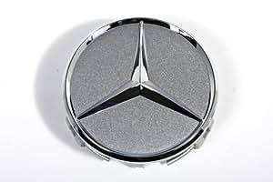 Mercedes benz logo silver wheel center cap center caps for Mercedes benz hat amazon