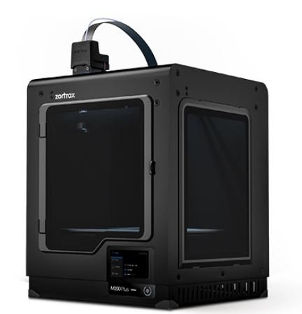 Zortrax M200 Plus 3D Printer - High-performance 3D Printer with WiFi Connectivity, Built-in Camera, Filament Runout Detection, and On-board Touchscreen Interface