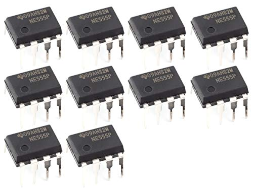 (UNIVERSAL-SOLDER SIMPLY. SMARTER. ELECTRONICS. 10 x NE555 Timer Generation Oscillator IC in DIP-8 Package)