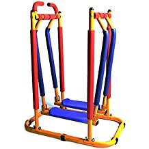 Akicon Fun and Fitness Exercise Equipment for Kids - Air Walker Sky Walker Glider Exercise Machine