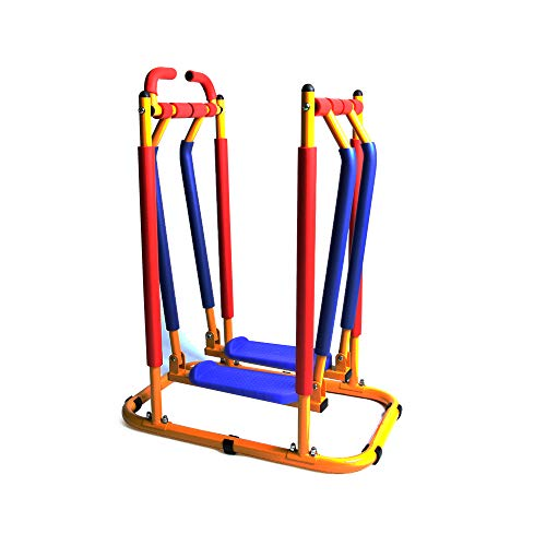 Akicon Kids Exercise Equipment - Air Walker Sky Walker Glider Exercise Machine (Best Exercise Equipment For Kids)