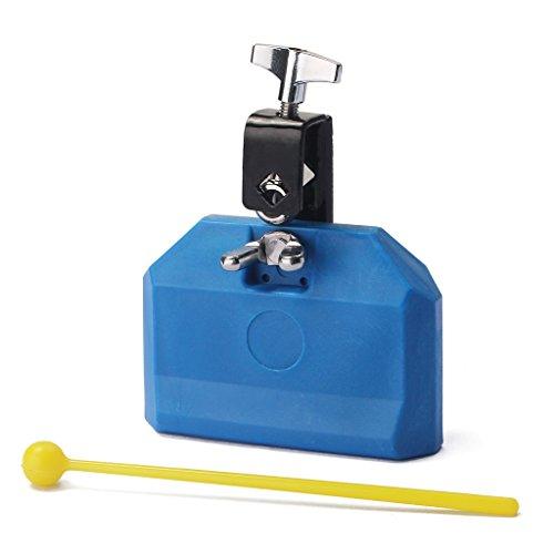 - MonkeyJack Durable Blue Eco-friendly Plastic Percussion Instruments Jam Block Latin Drum Kit