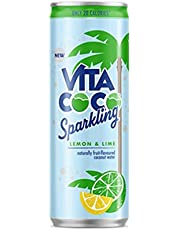 Vita Coco 901412 Lemon and Lime Sparkling Coconut Water, Pack of 12