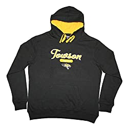 NCAA Youth TOWSON TIGERS Athletic Pullover Hoodie / Sweatshirt XL Black