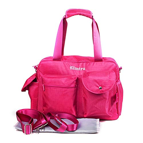 divinz Baby Diaper Nappy Changing Baby Diaper Bag/Baby Bag/Mummy Bag/Handbag (Pink)