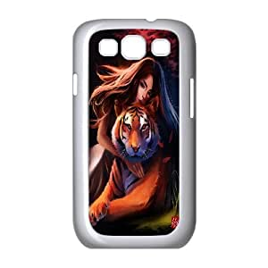 Unique Phone Case Pattern 16Powerful Tiger Pattern- For Samsung Galaxy S3