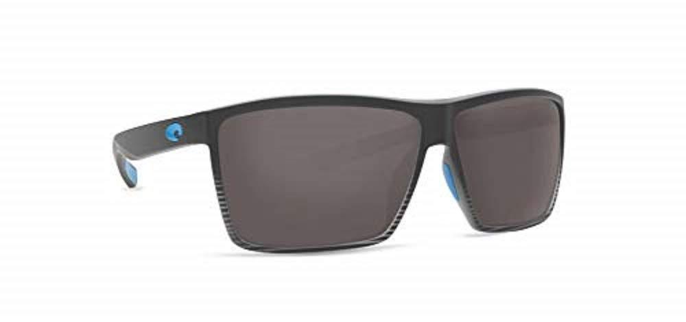 bac5df9f81be Costa Del Mar Polarized Sunglasses Rincon 64 Gray in 2019