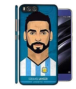ColorKing Football Lavezzi Argentina 01 Blue shell case cover for Xiaomi Mi A1