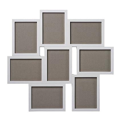 Ikea Cornice Per 8 Fotografie Vaxbo Colore Bianco 13 X 18 Cm