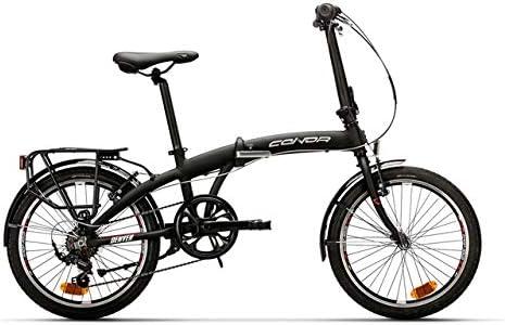 Conor Denver Plegable Bicicleta Ciclismo, Adultos Unisex, Negro (Negro), Talla Única: Amazon.es: Deportes y aire libre
