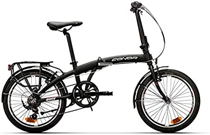 Conor Denver Plegable Bicicleta Ciclismo, Adultos Unisex, Negro ...