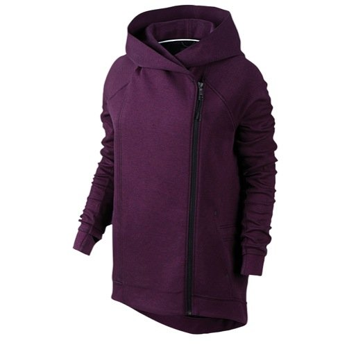 Nike Tech Fleece Cape Women's Cape Mulberry/Heather/Black 684928-563 Medium