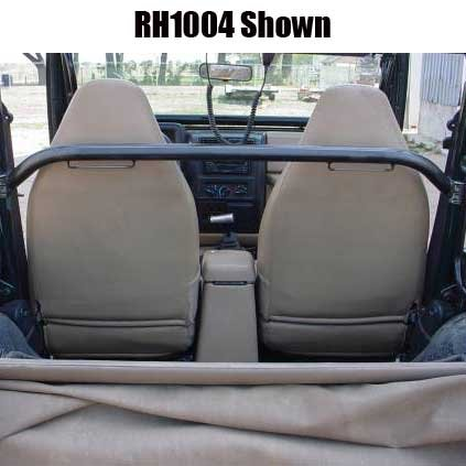 Rock Hard 4x4 Straight Across Front Harness Bar for Jeep Wrangler TJ and Unlimited LJ 1997 - 2006 by Rock Hard 4x4 Parts (Image #1)