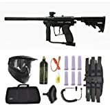 Spyder MR100 Pro Paintball Marker Gun 3Skull Sniper Set