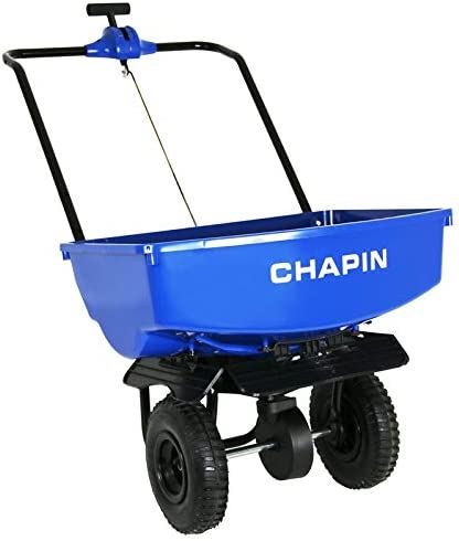Blue Chapin International Chapin 8003A 70-Pound Residential Salt Spreader with Baffles