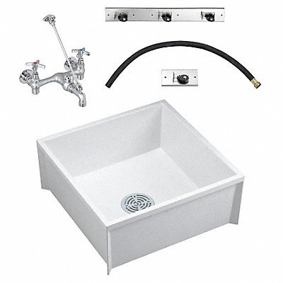 FIAT PRODUCTS Mop Sink Kit White 24 In L 24 In W ()