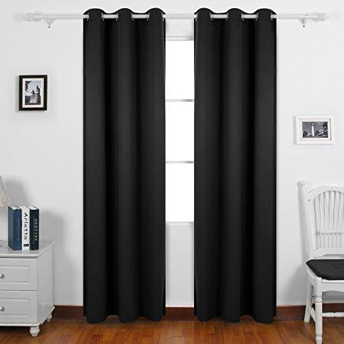 Deconovo Darkening Insulated Blackout 42x63 inch