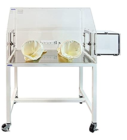 Laboratory Glove Box with Airlock, Gloves, and Gas ports; 35 x 24 x 25 in. Clear Acrylic: Amazon.com: Industrial & Scientific