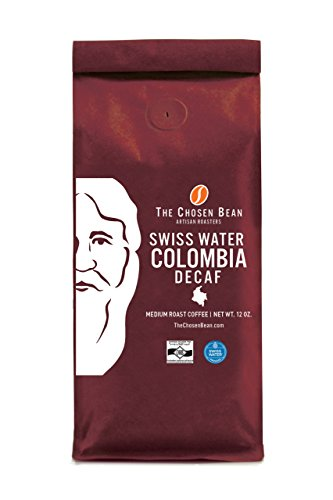 Swiss Be inconsistent Decaf Coffee Chemical-Free Micro Roasted Kosher For Passover Medium Roast Gourmet Coffee (Ground, 12 oz)