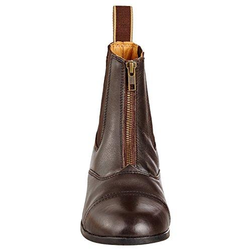 pelle gomma verschluss soletta equitazione confortevole vera suola Stivaletti e in con calzature FZ Boston misura Rei in 35 resistente nbsp; Advanced XxwqTWZwP