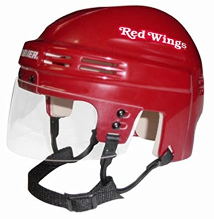 wholesale dealer ddfb7 fee3c NHL Detroit Red Wings Replica Mini Hockey Helmet