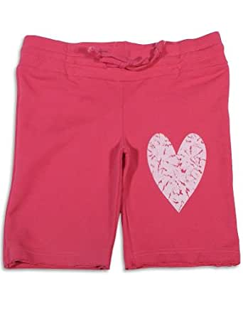 Celeb Kids - Little Girls' Bermuda Sweat Short, Fucshia 26767-6X
