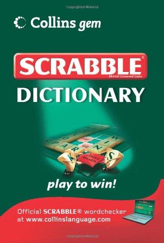 Scrabble Dictionary (Collins Gem): Amazon.es: Libros en idiomas extranjeros