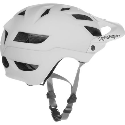 Troy Lee Designs A-1 Helmet Drone White/Grey, M/L by Troy Lee Designs (Image #2)