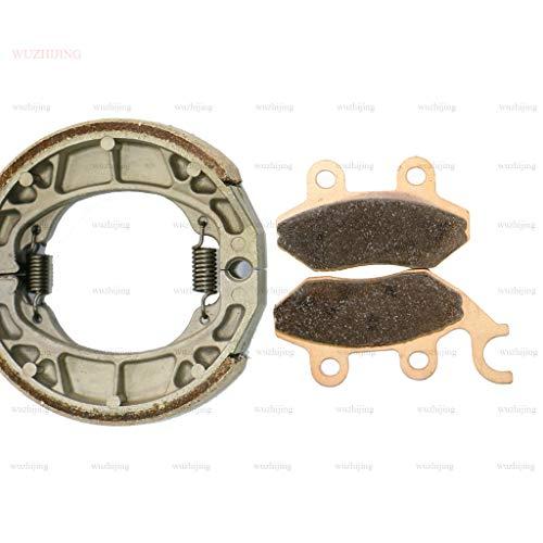Copper Sintered Front & Rear Brake Pad Shoe for SYM Attila 125 (99-00) Jet 50 R Sport X (95-17) Red Devil 99-09 Jungle City Hopper Shark Super Duke 125 99-02