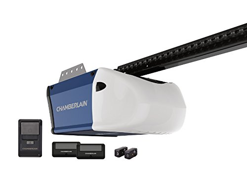 Chamberlain PD512 Garage Door Opener, ½ HP, Durable Chain ...