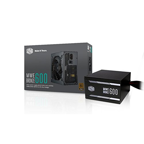 cooler master power supply 850w - 6