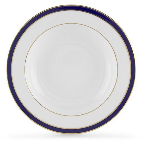 Lenox Federal Cobalt Platinum Bone China Pasta Bowls, Set of 4 ()