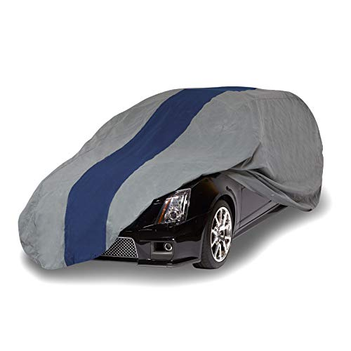 Duck Covers Double Defender Station Wagon Cover, Fits Wagons up to 16 ft. 8 (1995 Mercury Sable Station Wagon)