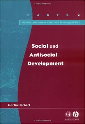 Book Social and Antisocial Development (Parent, Adolescent and Child Training Skills)