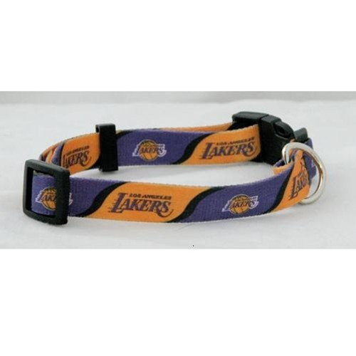 Hunter MFG Los Angeles Lakers Dog Collar, Medium