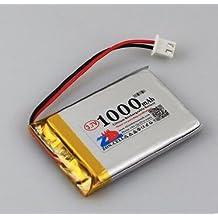 3.7v 1000mah 523450 503450 cordless telephone early childhood story machine lithium polymer battery 503450