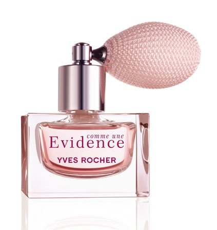 Yves Rocher Comme une Evidence Perfume 4-piece Gift Set: Comme une Evidence Perfume Extract, 30 ml/ Perfumed Body Lotion, 200 ml/ Shower Gel, 200 ml & Yellow Gold Over Brass Cubic Zirconia Diamond Clear Bangle