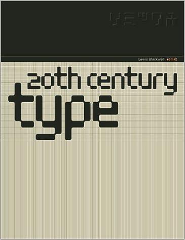 20Th-Century Type Remix: Lewis Blackwell: 9783927258891