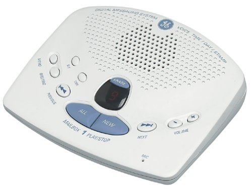 Ge Phone Answering Machine (GE 29868GE1 Digital Answering Machine)