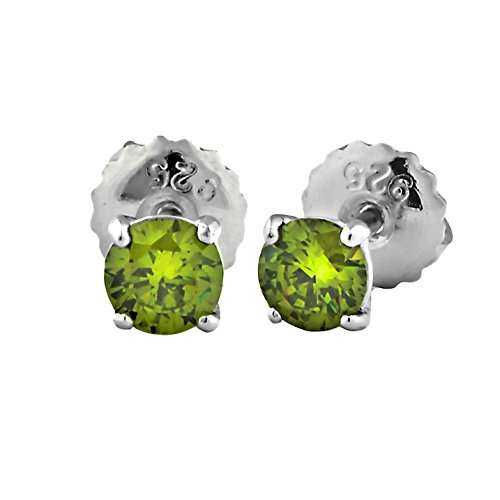 0.5 Ct Peridot Ring - 7