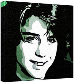 Download Ilan Mitchell Smith - Pop Art Print (Comic Effect) 30 x 30 x 2 cm Medium Square Deep Box Canvas pdf epub
