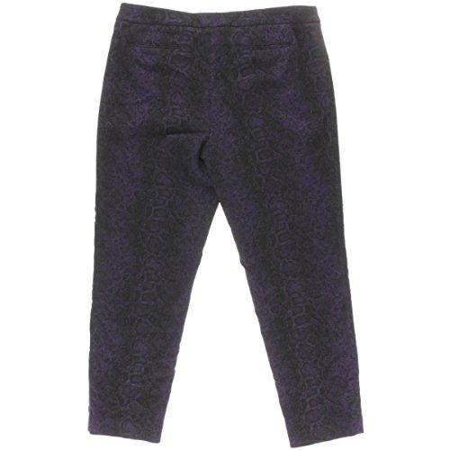 Anne D¡§ Pantalon Violet Womens Klein Fit contract¡§ Print 2 Slim Snake wR6FqS