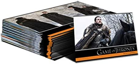2020 Rittenhouse Game Of Thrones The Complete Series 73-Card Base Set