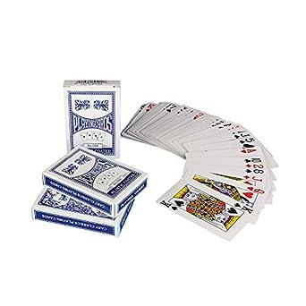 Juego de cartas de póquer GA17 de S&S, tamaño estándar, 12 ...