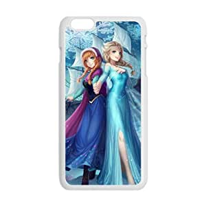 diy zhengHappy Frozen Princess Elsa and Anna Cell Phone Case for iphone 5/5s