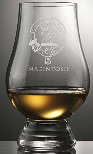 CLAN MACINTOSH GLENCAIRN SINGLE MALT SCOTCH WHISKY TASTING GLASS