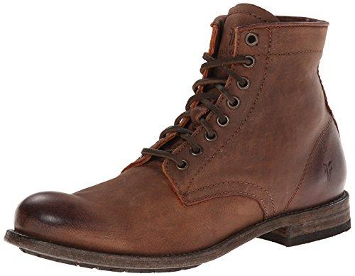 Frye Mens Tyler Allacciate Boot Cognac