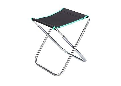 Zhuhaimei sgabello pieghevole da pesca in alluminio medio con sedia