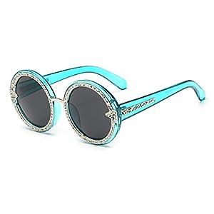 The Round Shape black Cute Sunglasses Nice for Dress